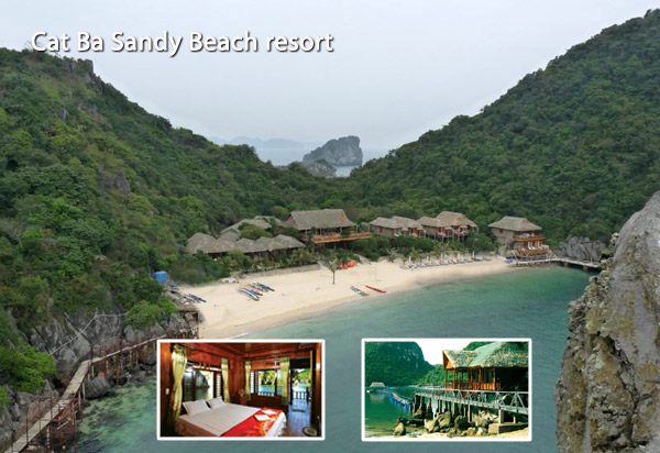 Cat Ba Sandy Beach resort photos
