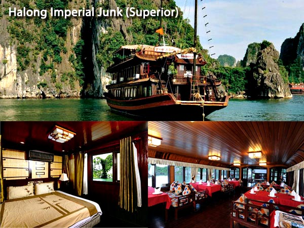Halong Imperial Junk Boat photos