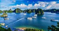 Halong Bay, home to descending Dragons & Cat Ba islands extension