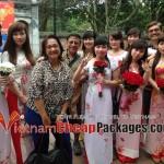 April 2014 – Mrs. Shakuntala Vijayan and 3 friends