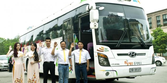 Sapa Express – the new buslines on Hanoi Lao Cai highway