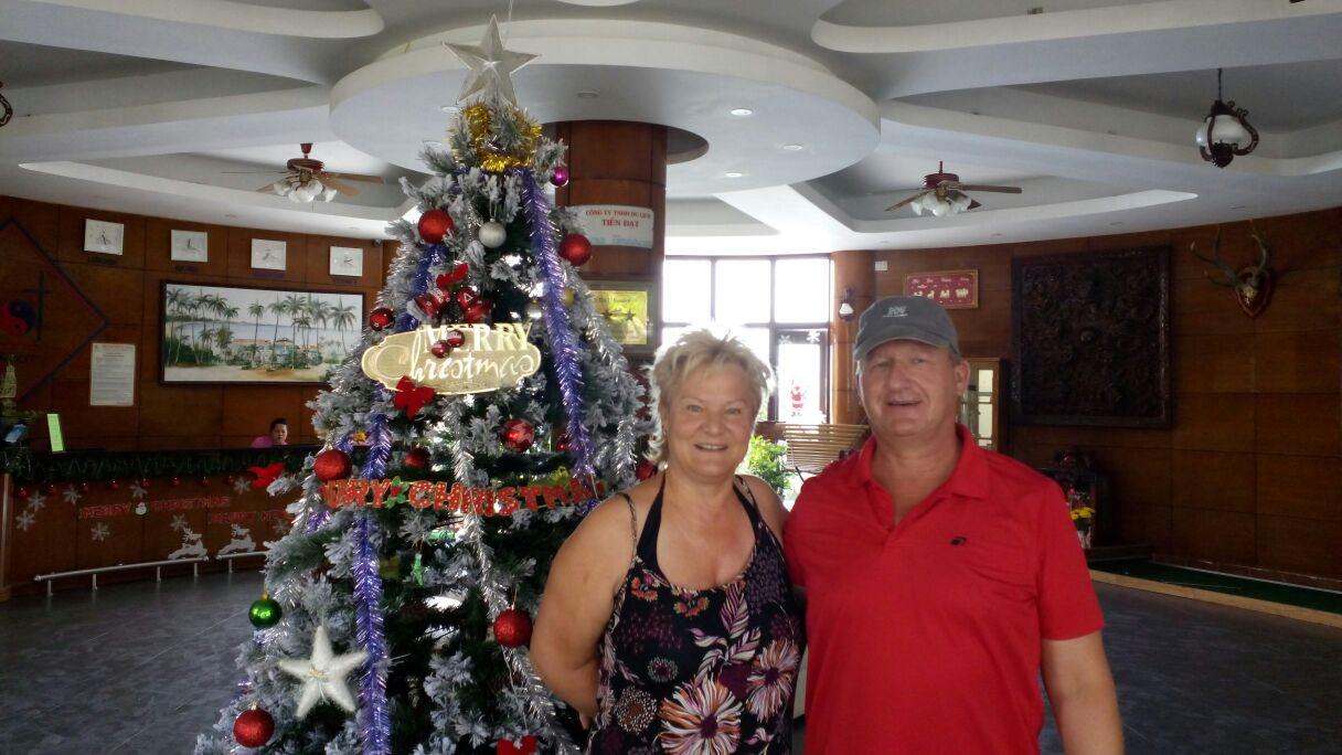 Nov 2014 - George & Martina with a Glance of Vietnam tour