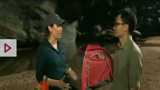 Deputy PM Vu Duc Dam inside Son Doong cave