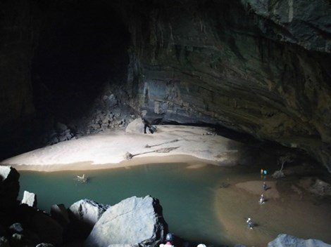 Live broadcast Son Doong cave video
