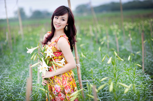 Cycling in Hanoi vicinity to Largest flower fields 1 Day