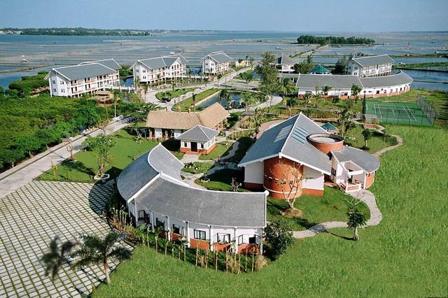 Tam Giang resort after Tam Giang lagoon tour