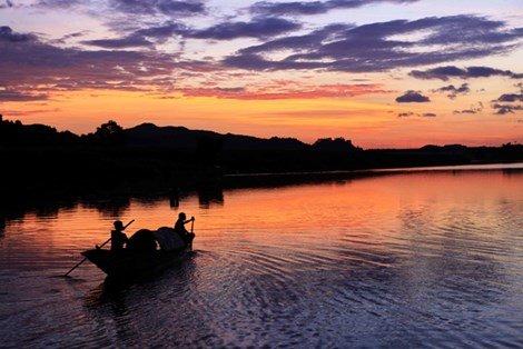 Sunset downs Phong Nha national park