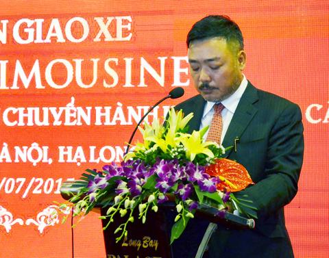 Managing Director Mr. Doan The Xuyen of Phuc Xuyen company
