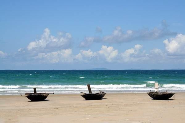 Van Chai beach, Co To island